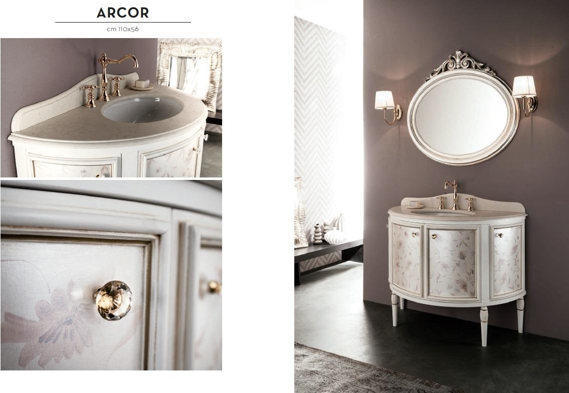 Arcor - massiv, klassische Badezimmer Möbel - Banater Eisen